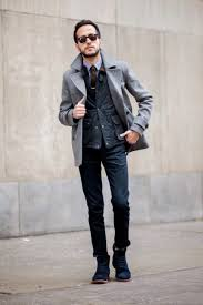 what to wear with a pea coat cool pea coat for guys
