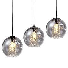 large pendant light shades overstock 3 light grey glass shade