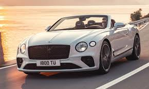 100 Bentleys On 27 Scintillating New 207mph Bentley Convertible Has Roof That