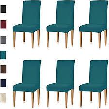keluina jacquard esszimmer stuhl schonbezüge sets stretch möbel schutzhüllen für sessel abnehmbare waschbar elastische parsons sitz fall für