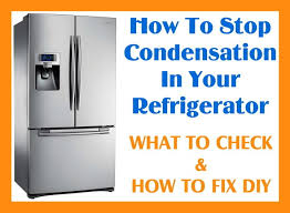 Whirlpool Refrigerator Leaking Water On Floor by How To Stop Condensation In Your Refrigerator Removeandreplace Com