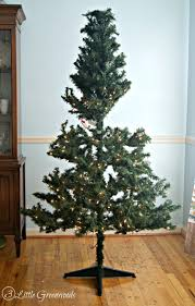 Unlit Artificial Christmas Trees Wholesale by Update A Fake Christmas Tree For Less Than 10 By 3 Little Greenwoods
