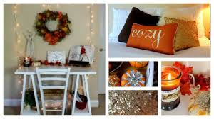fall room decor ideas and inspiration youtube
