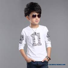 2016 Spring Little Boy Children Clothing Baby Cotton Long Sleeved T Shirt Promotion