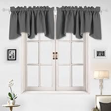 Amazon Prime Kitchen Curtains by Amazon Com Deconovo Home Decorations Blackout Curtain Panels