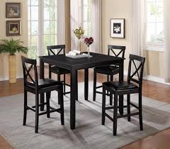 Happy Homes Tahoe Modern Rich Espresso Finish Counter Height Dining