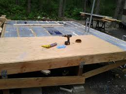 Floor Joist Span Table For Sheds by Jay Builds A House 2012
