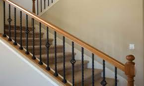 Decorations: Outdoor Stair Railing | Banister Spindles | Indoor ... Stalling Banister Carkajanscom Banister Spindle Replacement Replacing Wooden Stair Balusters Model Staircase Spindles For How To Replace Pating The Stair Stairs Astounding Wrought Iron Unique White Back Best 25 Black Ideas On Pinterest Painted Showroom Saturn Stop The Uks Ideas Top Latest Door Design Decorations Outdoor Railing Indoor Remodelaholic Renovation Using Existing Newel Fresh Rail And