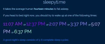 This Website Will Calculate EXACTLY What Time You Should Go To Bed