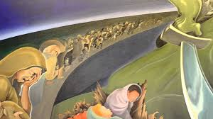 Denver International Airport Murals Painted Over by Infamous Denver Airport Paintings 2 Of 2 Youtube