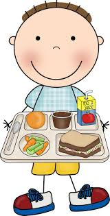 Menu Clipart School Lunch Tray Vector Library Download