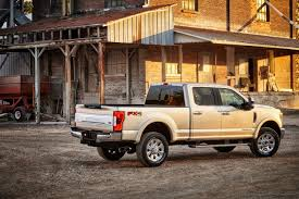 2017 Ford Super Duty All-Aluminum Trucks Announced