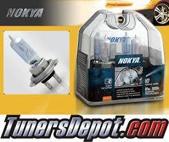 nokya cosmic white headlight bulbs high beam 2012 vw volkswagen