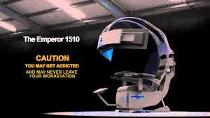 The Emperor Gaming Chair by Emperor 1510 Promo Ces 2012 3d Graphics Youtube