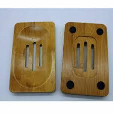 natürliche bambus holz bad dusche seifenschale seifenhalter