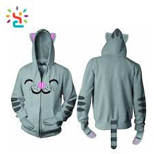 cat hoodies ears cat hoodies pull hoddie sweat suits for different