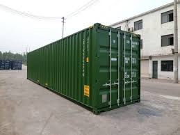 100 Shipping Containers 40 New Foot High Cube For Sale Container Traders