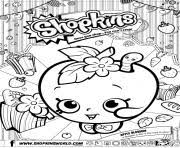 Print Free Shopkins New Coloring Pages