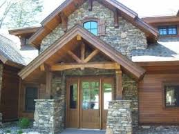 Cabin Style Homes Colors Stacked Stone Craftsman Style Home Dream Home Pinterest