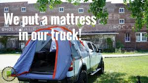 Original Airbedz Truck Bed Air Mattress - YouTube
