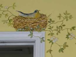 Decorative Painting Ideas For Walls Delectable Inspiration Bird Wall Decoration
