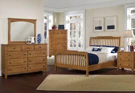 Vaughan Bassett Reflections Dresser by Vaughan Bassett Reflections King Storage Bed W Simply Oak Pieces