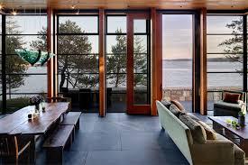 comely grey slate flooring decor ideas in living room modern