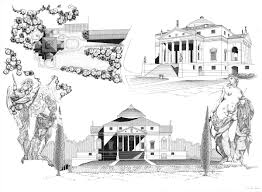 100 Villa Rotonda Drawing On Behance