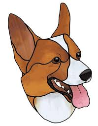 Corgi Free Sample From Stained Glass Patterns By Jillian Sawyer Books