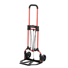100 Stair Climbing Hand Truck Rental Magna Cart 160 Lb Capacity MCI Steel Folding In RedMCI