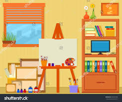 Home Art Studio Easel Painting Tools Stock Vector 630734780 ... Home Art Studio Ideas Interior Design Reflecting Personality Recording 20 Best Studios Images On 213 Best Artist Images On Pinterest Artists Ceramics Small Bedroom Organization Ideas Basement Art Studio Home And Office Ikea Fniture Apartments Drop Dead Gorgeous Decor For Spaces Freshman Illust Google Creative Corners Incredible Inspiring Teen Boys Bedroom Glass Doors Ding Room