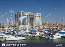 100 Ritz Carlton Herzliya Residences The Marina And The Hotel In Stock