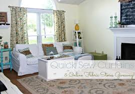 Nicole Miller Home Two Curtain Panels by Easy Sew Curtain Panels And A Fabric Giveaway Mom 4 Real
