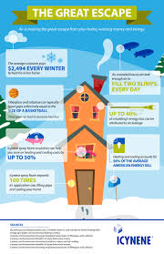 Insulating Cathedral Ceilings With Spray Foam by Infographics Icynene