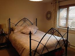 black gothic bed frame