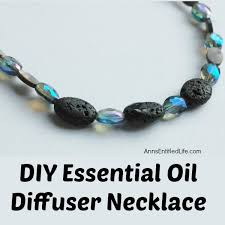 DIY Essential Oil Diffuser Necklace Make Your Own All Day Using This Easy