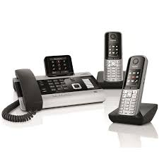 Siemens Gigaset DX800A Trio | For VOIP, ISDN, And Landline Gigaset Maxwell 3 Ip Desk Phone From 12500 Pmc Telecom Mitel 5380 Operator 22917 In Stock The Internet And Landline Phone With Highcontrast Colour Display A400 Dect Cordless Single Amazoncouk Electronics Siemens S850a Go Ligocouk Ctma2411batt Silver Black Vtech Hotel Phones S685 Telephone Pocketlint Alcatel 4028 Qwerty Telephone Refurbished Looks Like New S810a For Voip Landline Ligo Polycom 331 Sip Buy Business Telephones Systems Dl500a Cordless Answering System Caller Id