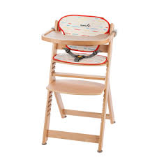 100 Wooden High Chair With Removable Tray Safety 1st Timba Chair With Cushion Available In 3