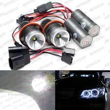 2pcs 10w cree led eye marker halo light bulb white for bmw