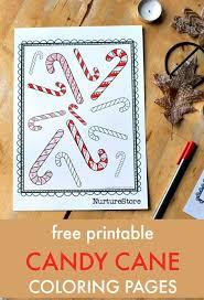 Colour Pages For Candy Cane Fans Preschool CraftsPreschool IdeasWinter