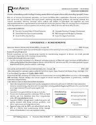Business Acumen Resume Examples As Well Development Executive Sample Operations Example For