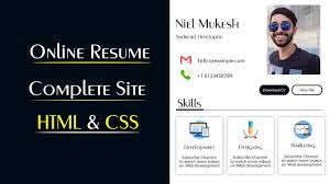 Create Online CV Website Using HTML And CSS | Make Resume Website In HTML &  CSS How To Do A Resume Online Unique Create Line Free Downloads Builder A Standout Maintenance Technician 56 Where Can I Build Devopedselfcom 15 Best Cool Wallpaper Hd Download Senchouinfo Modern Template Make Innazo Us Easy Resignation Letter Format Banao Maker In 10 Creators Cv