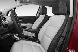 2014 Toyota Highlander Captains Chairs by 2015 Chevrolet Trax Front Seats Interior Photo Automotive Com
