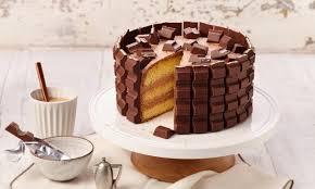 kleine kinder riegel torte