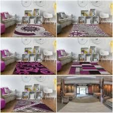 details zu luxus lila und schwarz stil design leben tv room schlafzimmer heim carpet läufer