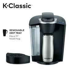 Keurig K55 Coffee Maker Black K Classic Cup Pod Single Serve Programmable Costco