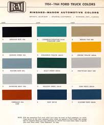 100 Ford Truck Colors Vintage Oldsmobile Vintage Paint