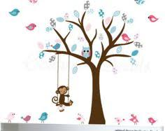 Owl Bedroom Wall Stickers by Owls On Tree Wall Stickers For Kids Rooms Decorative Adesivo De