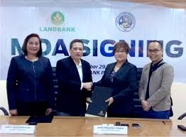 moa siege social sra and land bank sign moa negros daily bulletin