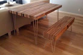 how to build a reclaimed wood dining table apartment therapy